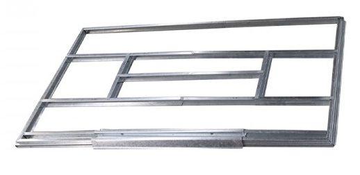 Unterkonstruktion für Metallgerätehäuser, Modell Kompakt 3