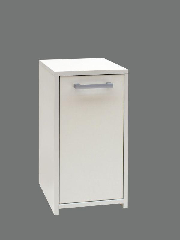 Unterschrank Cerri 03, Farbe: Weiß - 60 x 30 x 30 cm (H x B x T)