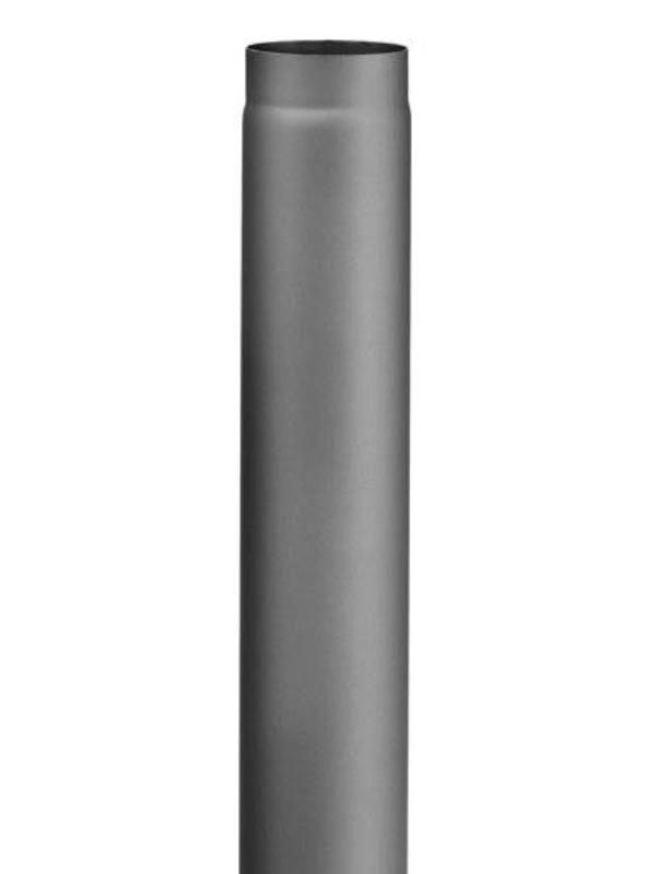 Haas+Sohn Rauchrohr 1000 mm Ø 150 - Variante: anthrazit