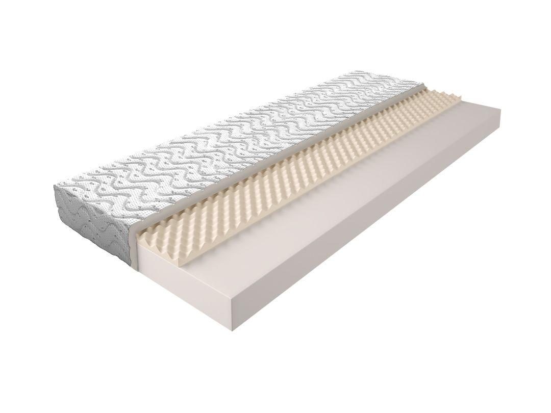 Matratze mit Schaumstoffkern 004 - Größe: 120x200 cm, Höhe: 13cm