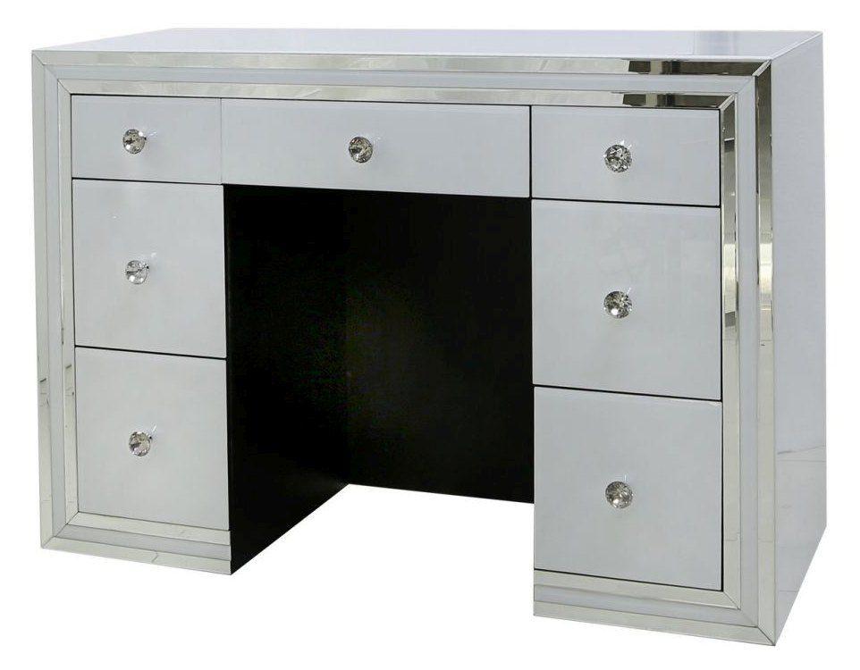 Schminktisch / Schreibtisch Namaro 14, verspiegelt - Abmessungen: 85 x 120 x 45 cm (H x B x T)