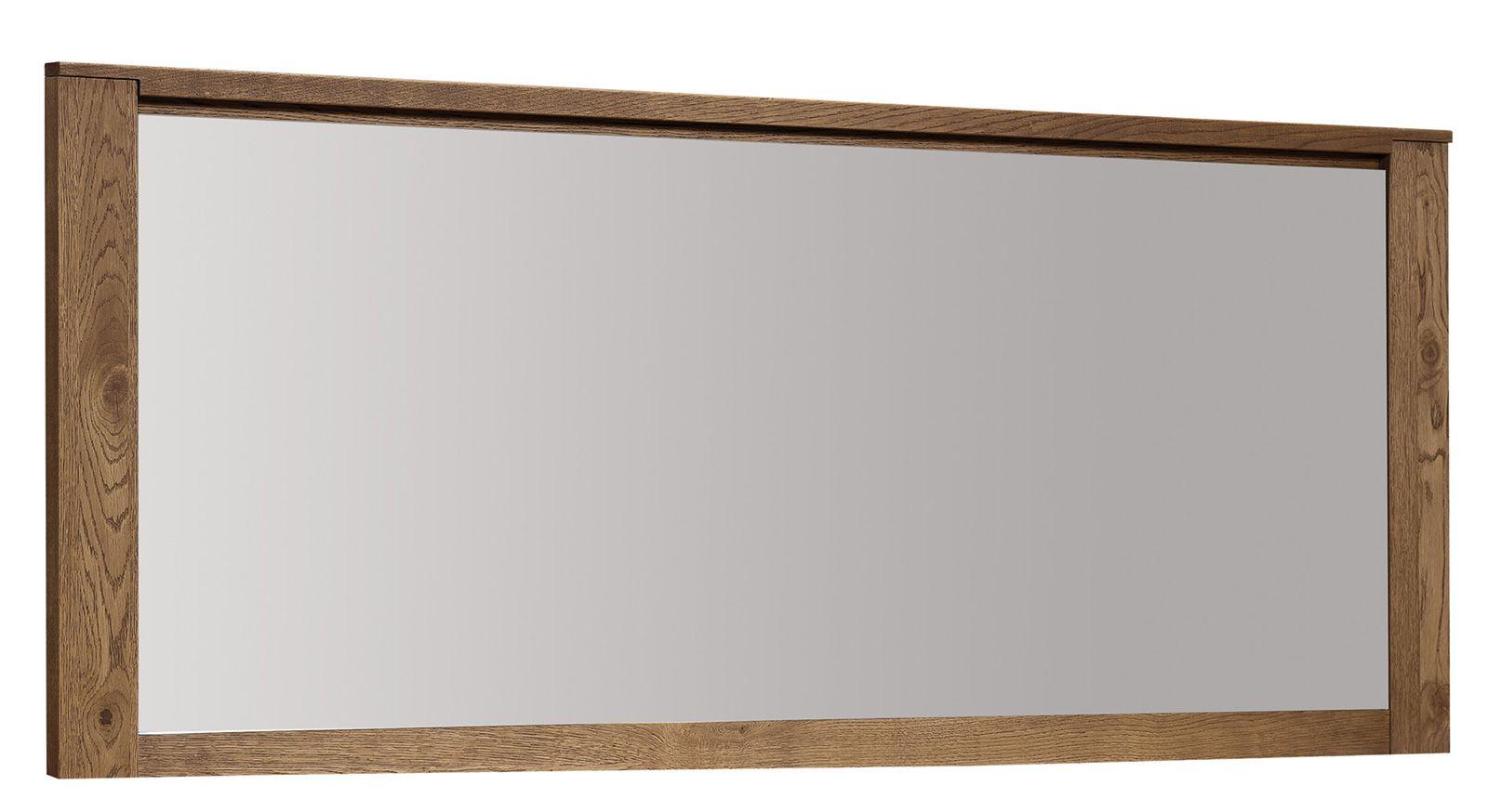 """Spiegel """"Alimos"""" Wildeiche natur 59, teilmassiv - 70 x 164 x 4,5 cm (H x B x T)"""