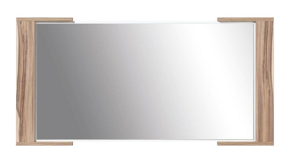 """Spiegel """"Andenne"""" 05, Farbe: Walnuss - Abmessungen: 57,50 x 115 x 3,50 cm (H x B x T)"""