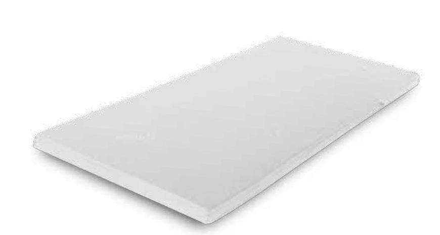 Matratzenschoner Memory, Material: Memory Schaum, Maße: 120 x 200 cm (B x T)