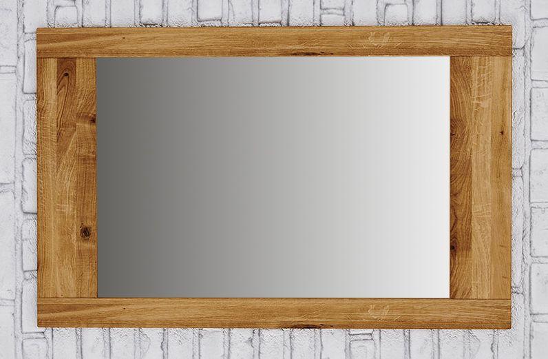 Spiegel Kapiti 25 Wildeiche massiv geölt - Abmessungen: 70 x 110 x 2 cm (H x B x T)