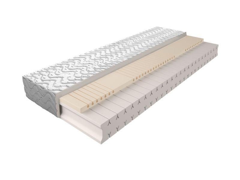 Matratze mit Schaumstoffkern 010 - Größe: 90 x 200 cm, Höhe: 18 cm